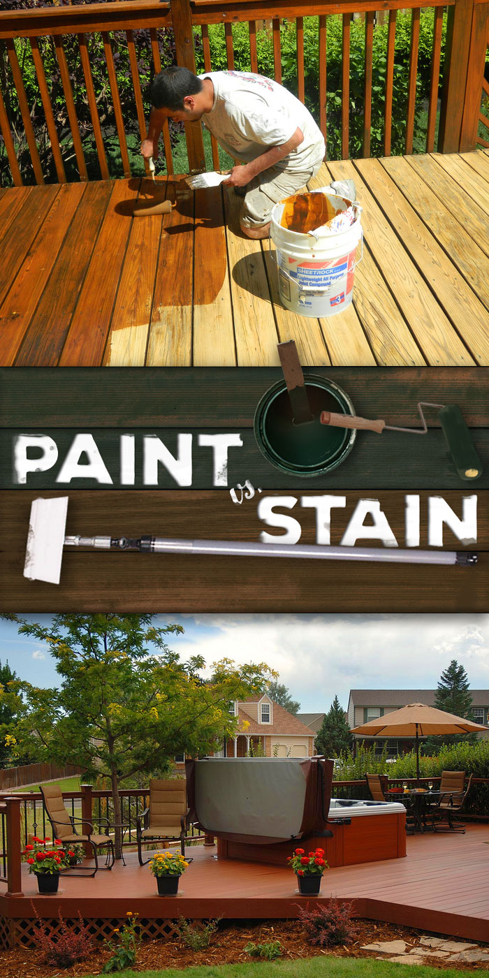 paint vs stain