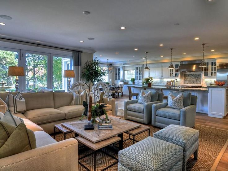 How to Design Inside an OpenPlan Living Layout  Mansion