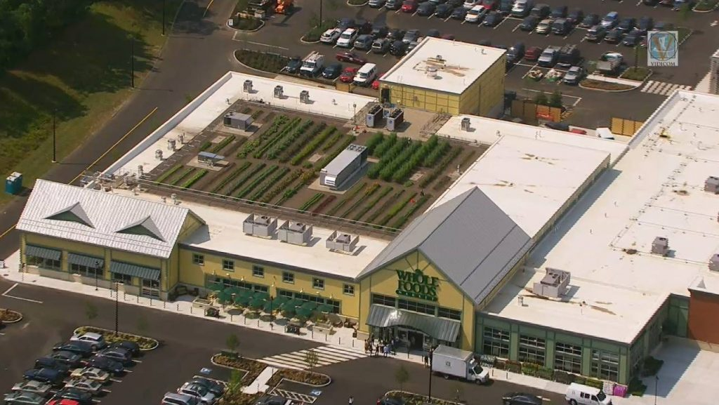 Whole Foods Rooftop Farm