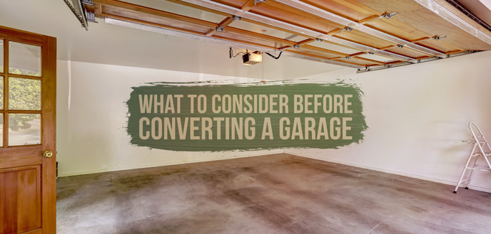 Converting a Garage Into a Room: What to Know | Budget Dumpster on convert garage to family room, turn your garage into a room, garage into family room, garage game room, converting garage to room, garage into a movie room, transform garage into room, using garage as family room, converting garage into living room,
