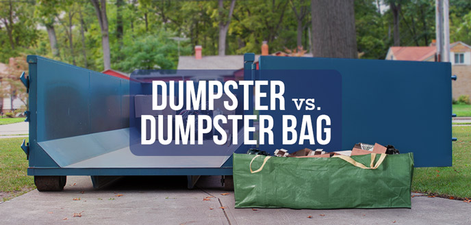 Dumpster vs. Dumpster Bag