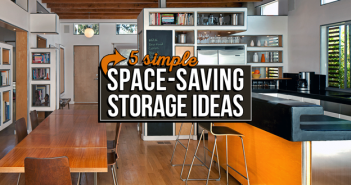space saving storage ideas