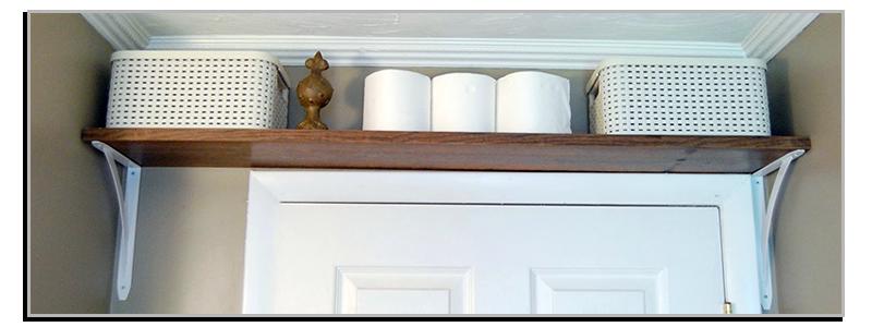 storage above doors