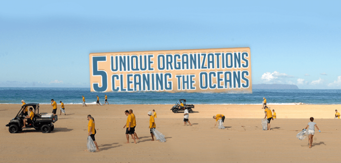 unique organizations cleaning the ocean