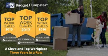 Budget Dumpster named Top Workplace