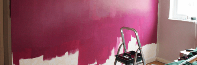 painting an accent wall