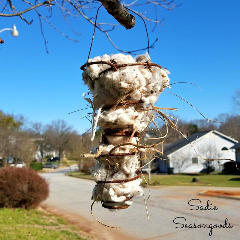 Bed Spring Bird Nest