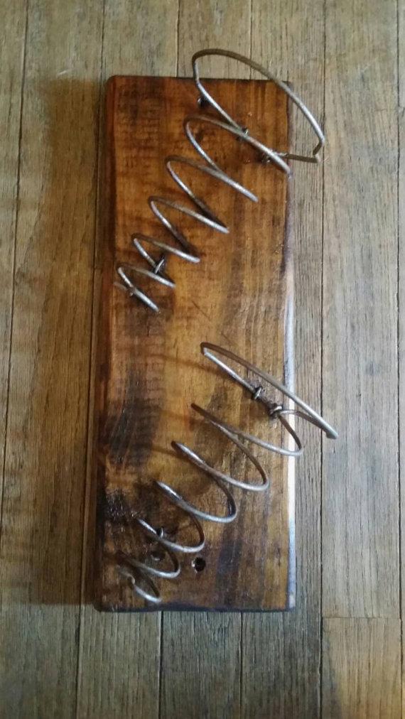 Bed Spring Wine Rack