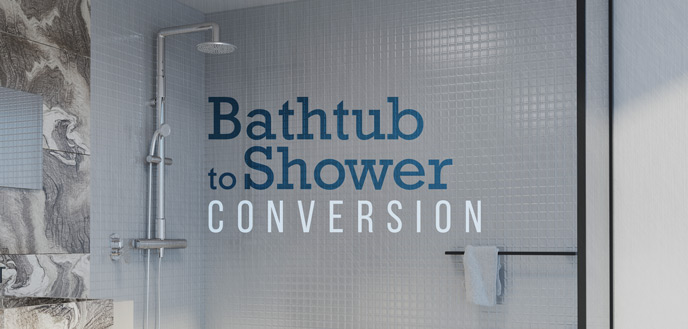 DIY Bathtub to Shower Conversion | Budget Dumpster