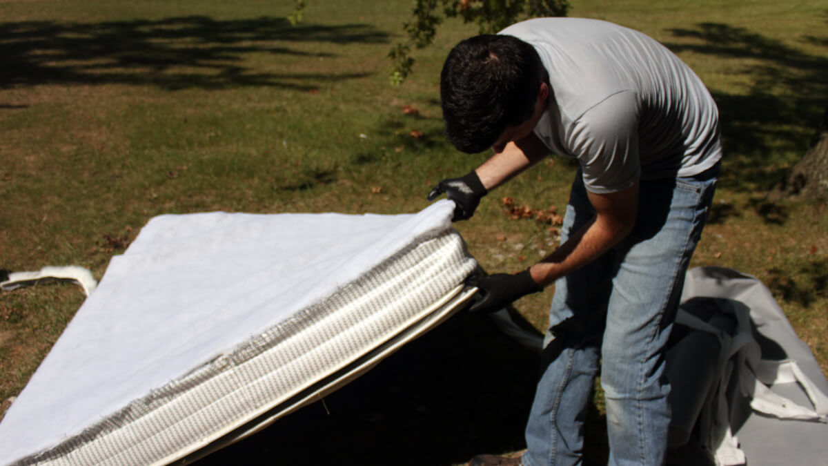 Breaking Down the Mattress Top