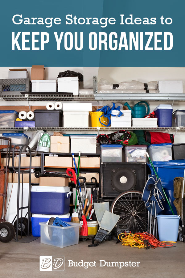 Storage Ideas for Your Garage