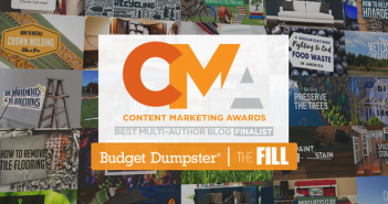 Budget Dumpster a Finalist in Content Marketing Awards