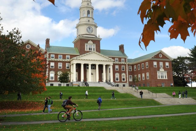 Colby College, a Top Sustainable School
