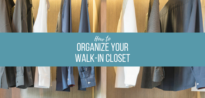 Awesome Walk In Closet Organization Ideas