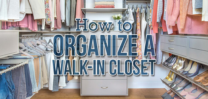 How To Organize A WalkIn Closet Budget Dumpster Magnificent Small Bedroom Closet Organization Ideas Concept Remodelling