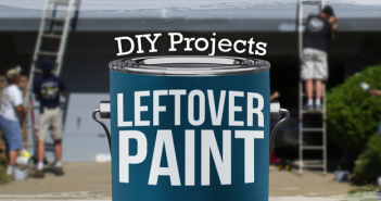 Project Ideas with Leftover Paint