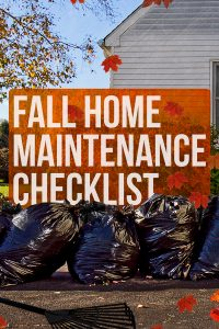 7 Must Do Fall Home Improvement Projects I Budget Dumpster