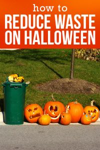 How to Reduce Waste on Halloween