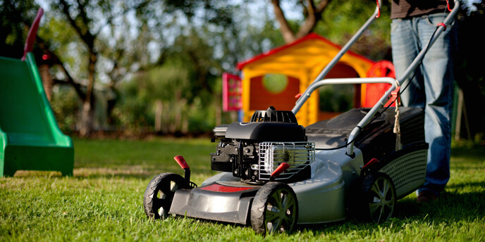 A little known fall yard cleanup tip is to keep mowing your lawn until it gets colder.