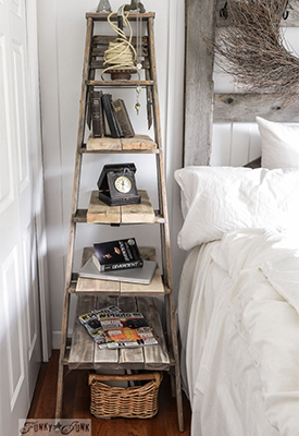 DIY Repurposed Ladder Ideas