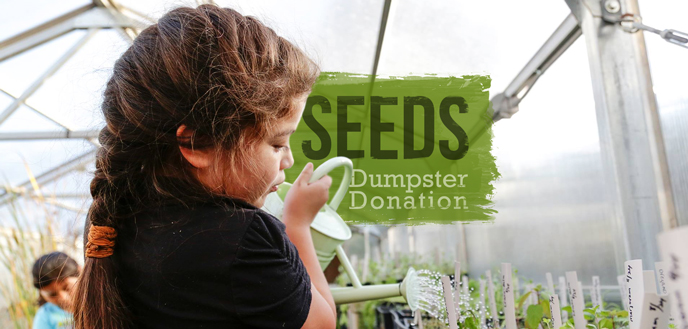 SEEDS NC Dumpster Donation