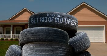 How to Get Rid of Old Tires
