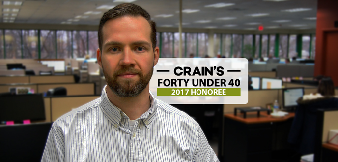John Fenn Named to Crains 40 Under 40