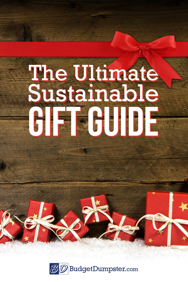 Sustainable Gift Guide Pin
