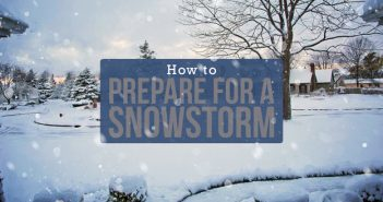 How to Prepare for a Snowstorm