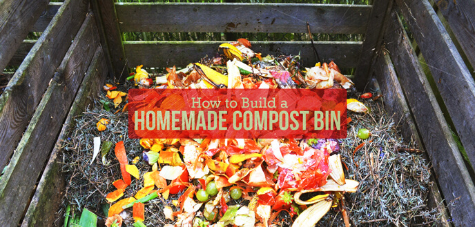 How to Build a Homemade Compost Bin