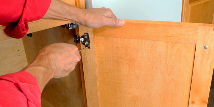 Remove Kitchen Cabinet Doors