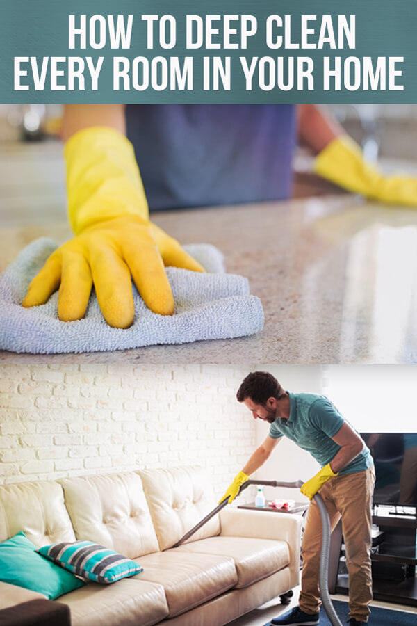 Forget your once-in-a-blue-moon deep cleaning weekend. Use this checklist to keep your home clean on a weekly, monthly and seasonal basis.