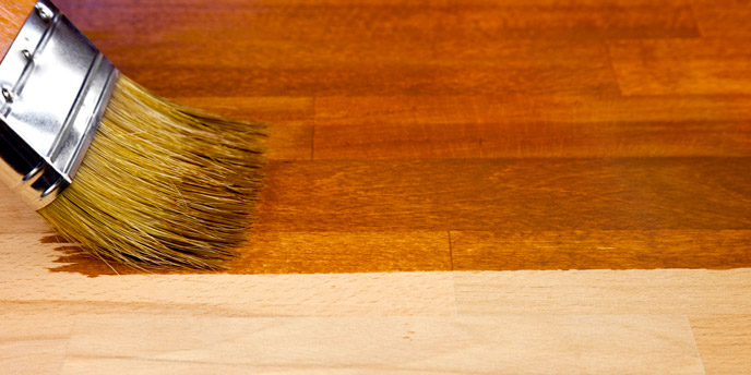 Stain Your Hardwood Floor to Add Color