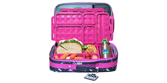 Lunch Packed in Go Green Lunch Box