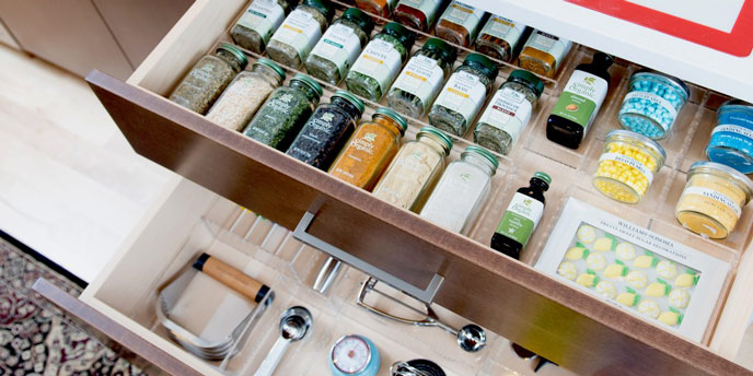 Kitchen Junk Drawer Organizer Ideas