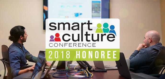 Budget Dumpster Receives Smart Culture Award