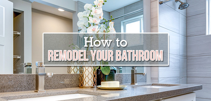 Diy Bathroom Remodel A Step By Step Guide Budget Dumpster