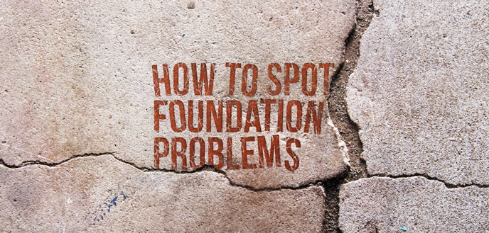 How to Spot Signs of Foundation Problems