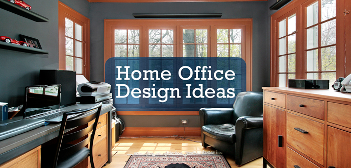 Merveilleux The 6 Most Productive Home Office Design Ideas