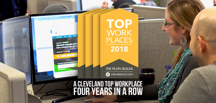 A Cleveland Top Workplace Four Years in a Row