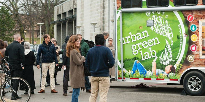 Green Lab Mobile Lab Teaching Students About Sustainability