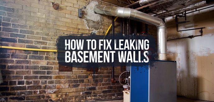 How To Stop Leaking Basement Walls Budget Dumpster