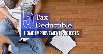Are Home Improvements Tax-Deductible?