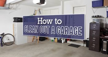 How to Clean Out a Garage