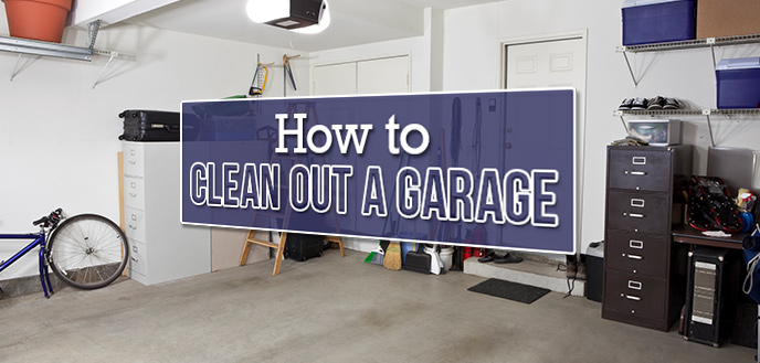 How To Clean Out Your Garage And, Cleaning Out The Garage