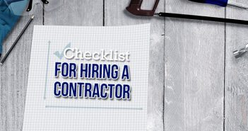 Checklist For Hiring a Contractor