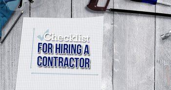 Checklist For Hiring a Contractor
