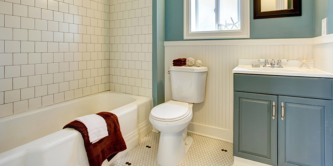 Diy Bathroom Remodel A Step By Guide Budget Dumpster