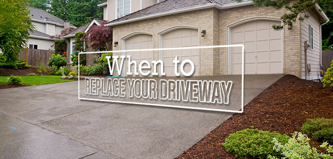 When To Replace Your Driveway Budget Dumpster