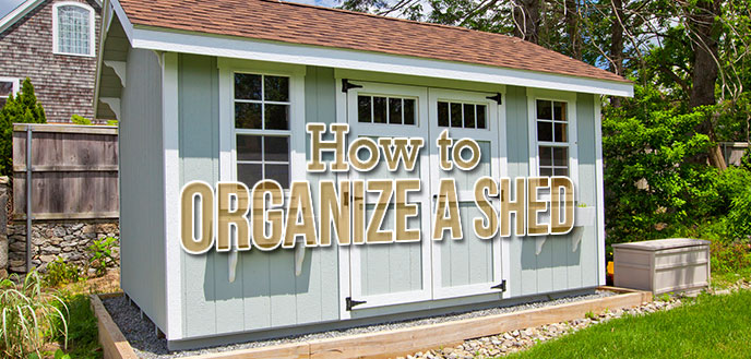 How to Organize a Garden Shed